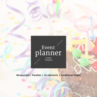 Event Planner Responsive Tema Joomla