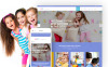 Tema WordPress Responsive #62115 per Un Sito di Day Care New Screenshots BIG