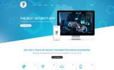 "Template Joomla Responsive #62176 ""Shield - The Best Security App"""