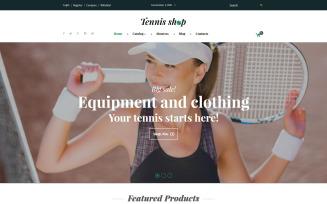 Tennis Shop VirtueMart Template