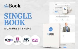 The Book - Single Book WooCommerce Theme