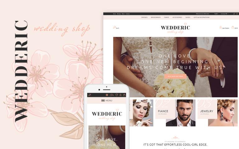 Wedderic - Wedding Shop Responsive PrestaShop Theme New Screenshots BIG