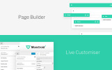 """Monstroid 2 - Multifunctioneel"" Responsive WordPress thema"