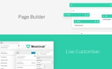 Responsivt Monstroid2 - Multifunktionell WordPress-tema