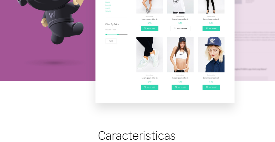 Website Design Template 62222 - premium professional modern