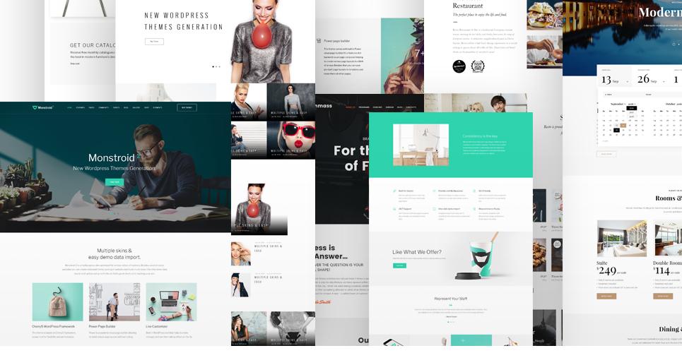 Website Design Template 62222 - corporate creative business page builder ecommerce portfolio unique premium professional modern