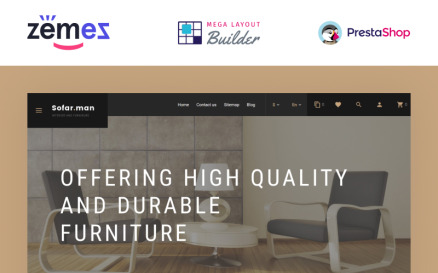 Sofarman - Interior Design Furniture Template PrestaShop Theme