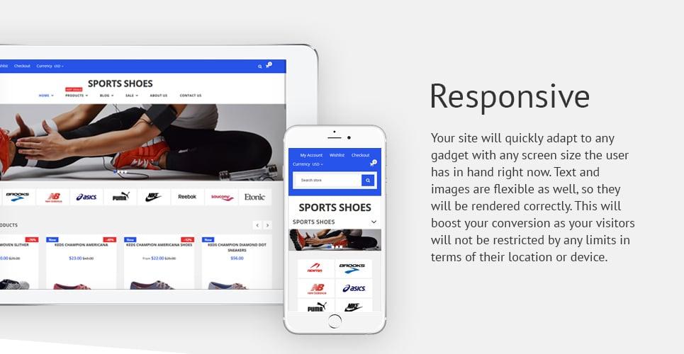 Sport Shoes - Responsive Shopify Theme