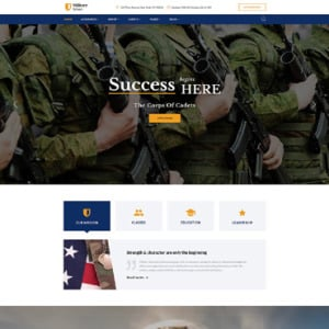 Screenshot of Military School Rank
