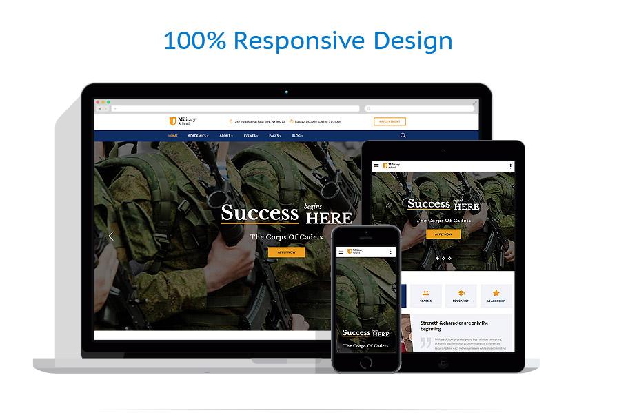 Modèles HTML5 Militaire #62245