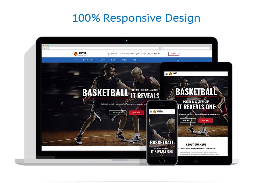 Modèles HTML5 Sport #62246