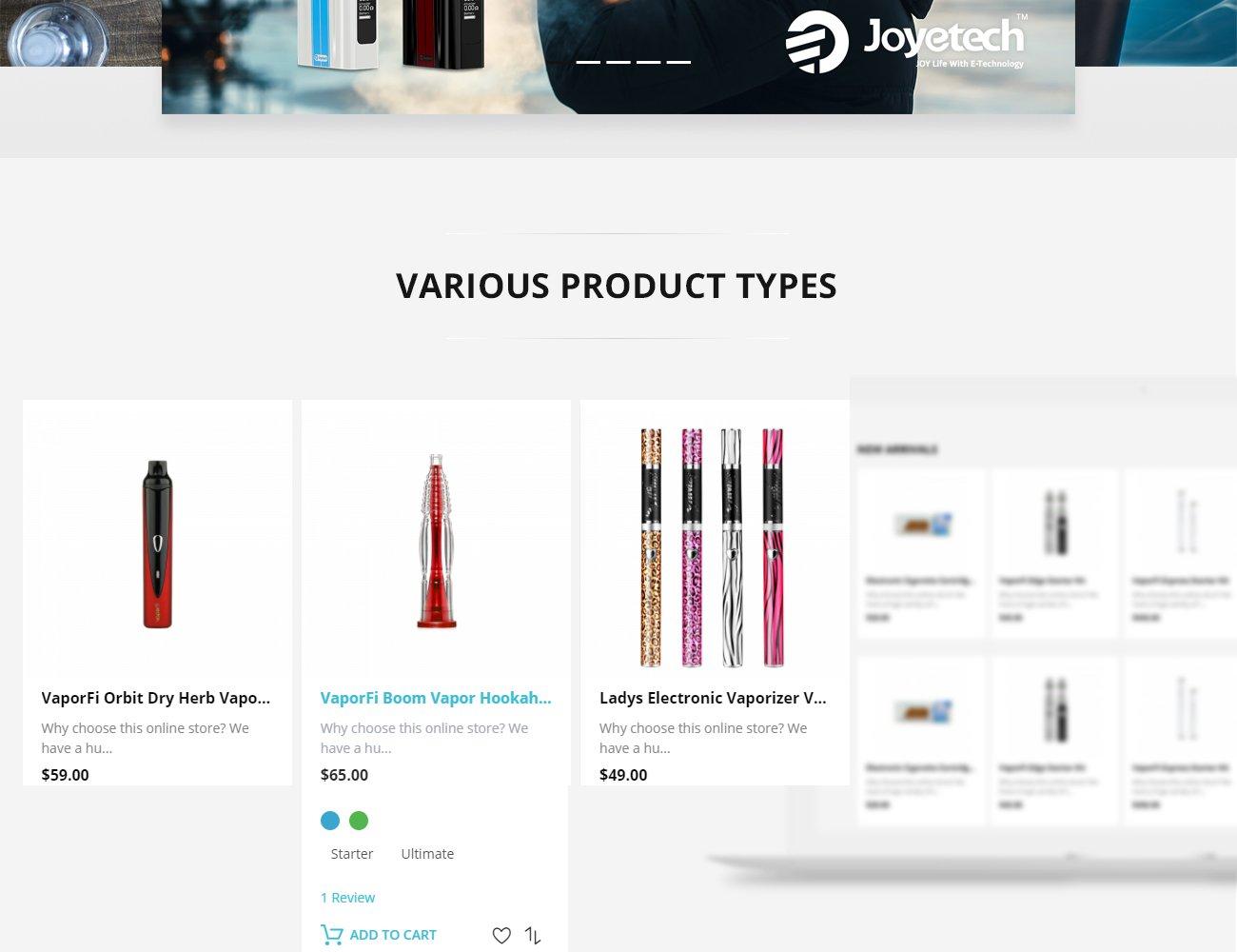 Vapor Electronic Cigarette Magento Store - Service invoices templates free online vape stores