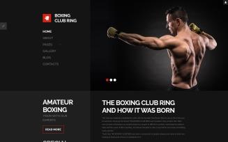 Boxing Responsive Joomla Template