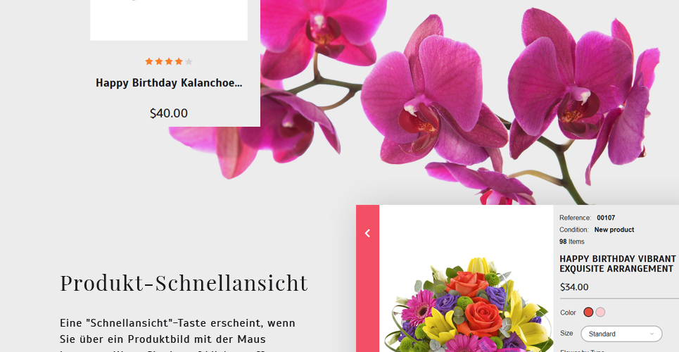 Website Design Template 62258 - present cards holiday celebration catalog delivery chamomile daisy bouquet wrapping