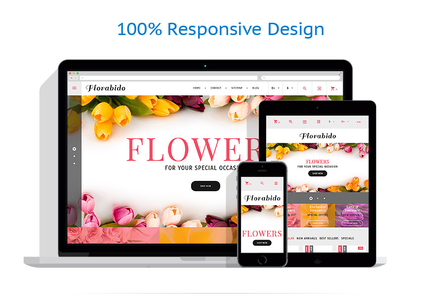 Thèmes PrestaShop Fleurs #62258