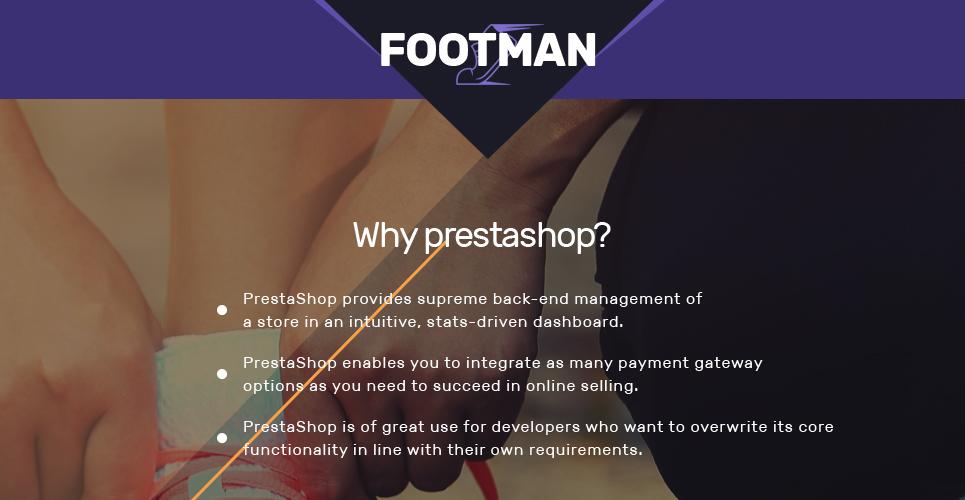 Footman - Sneakers Store PrestaShop Theme
