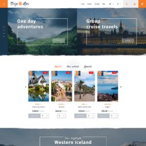 Screenshot of Trip Rev Travel