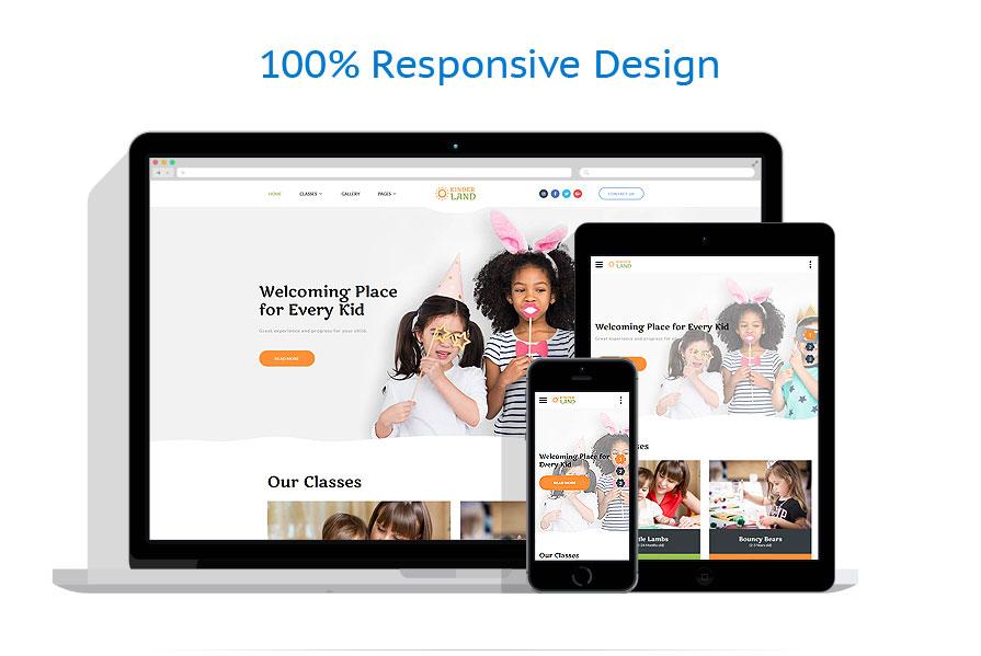 Modèles HTML5 Famille #62263