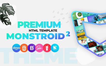 Monstroid2 - Multipurpose Premium HTML5 Website Template