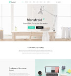 Website Template  #62267