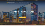 Responsivt Hemsidemall för byggföretag