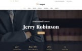 Responsivt Lawyer & Attorney Multipage Hemsidemall
