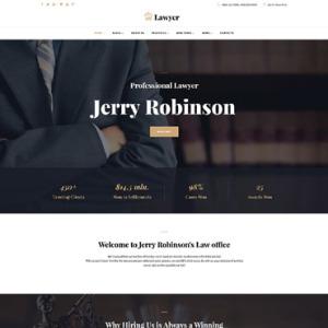 Screenshot of Lawyer Law Agency