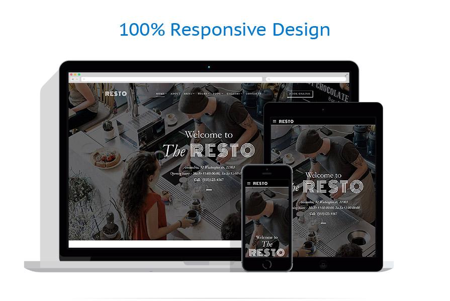 Modèles HTML5 Café et Restaurant #62276