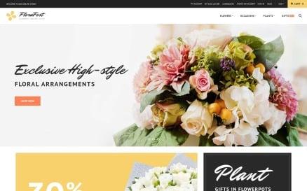 FloraFest - Flower Shop Responsive Magento Theme