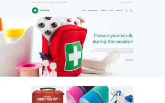 First Aid Responsive VirtueMart Template