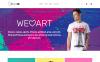 Адаптивний Magento шаблон на тему магазин футболок New Screenshots BIG