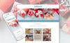 Адаптивный Joomla шаблон №62277 на тему магазин подарков New Screenshots BIG