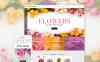 Адаптивный PrestaShop шаблон №62258 на тему цветочный магазин New Screenshots BIG