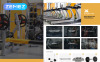 """BuzzSport - Gym Equipment"" Magento Thema New Screenshots BIG"