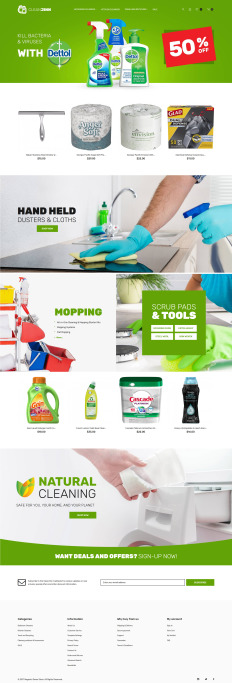cleaning templates