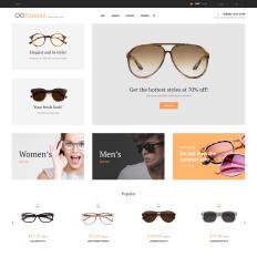 Eye Glasses Templates TemplateMonster - Make your own invoice free eyeglasses online store