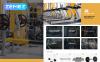 Küzdősport  Magento sablon New Screenshots BIG