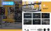 "Magento Theme namens ""BuzzSport - Gym Equipment"" New Screenshots BIG"