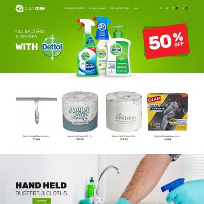 Reinigungs-Vorlagen, Reinigungs Web Vorlagen