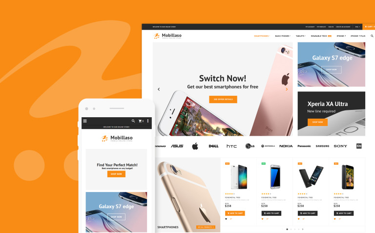 Mobillaso - Mobile Store Responsive Magento Theme New Screenshots BIG