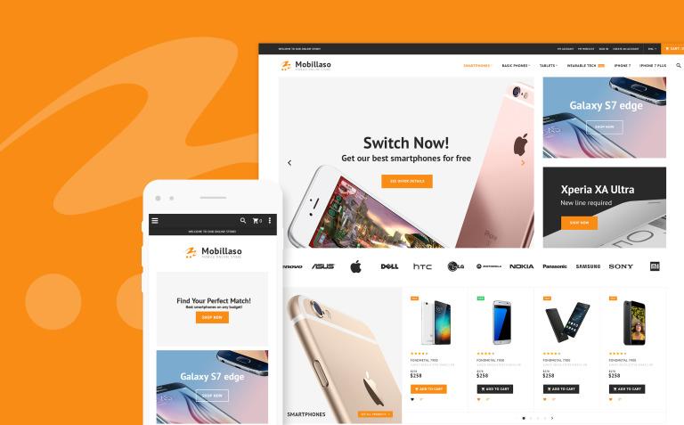 Mobillaso - Mobile Store Responsive Magento Theme New Screenshots BIG