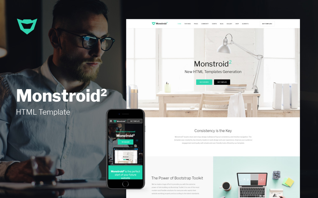 Monstroid2 Multipurpose Website Template New Screenshots BIG
