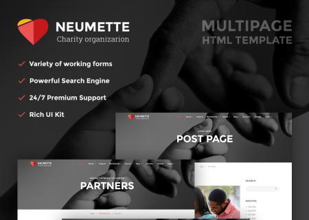 Charity Organization HTML5