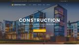 Responsive Website template over Bouwbedrijf