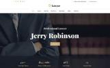 Responsive Website Vorlage für Rechtsanwalt