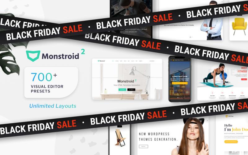 Responsivt Monstroid2 Multipurpose Hemsidemall #62267