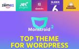 Responsywny motyw WordPress Monstroid 2 - Uniwersalny #62222