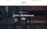 Responsywny szablon strony www Lawyer & Attorney Multipage #62274