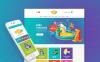 Reszponzív Játékbolt  Magento sablon New Screenshots BIG