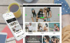 "Shopify Theme namens ""Fleek - Fashion Responsive"" New Screenshots BIG"